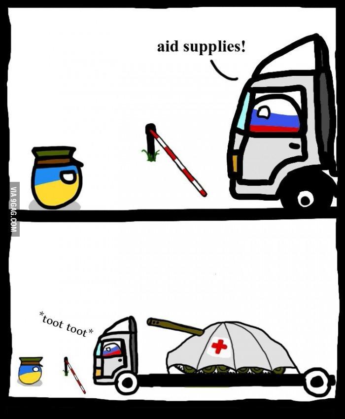 Bien essayer Russie - meme