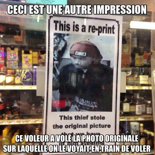 Le thug OMG - meme