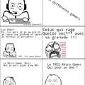 Différents Gamers