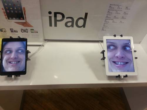 Ipad Face - meme