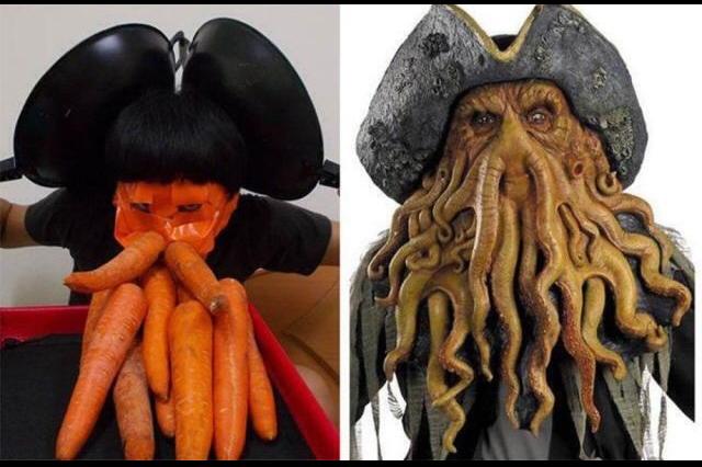 Pauvres carottes - meme