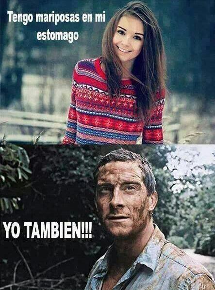 Mariposas - meme