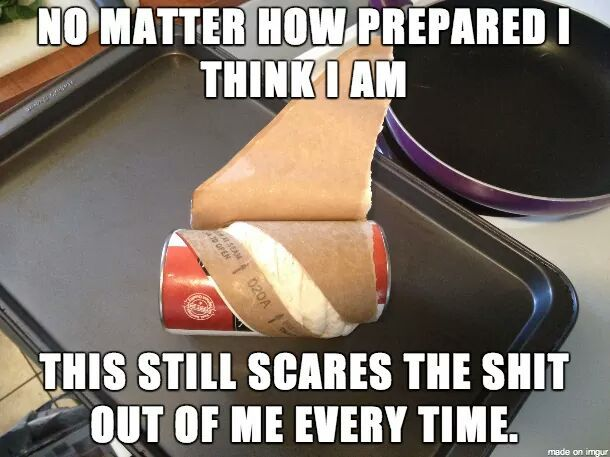 Scary, scary can... - meme
