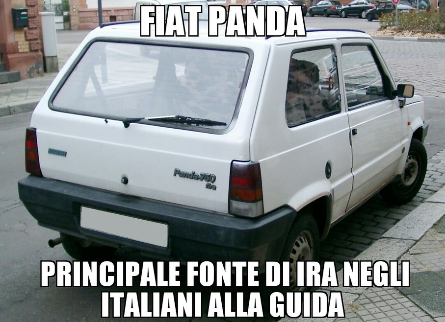 La mitica panda - meme