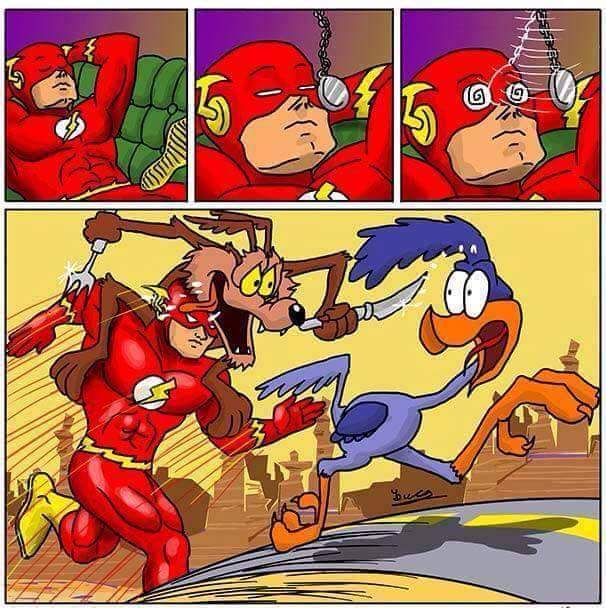 Bátima >>>> Flash - meme