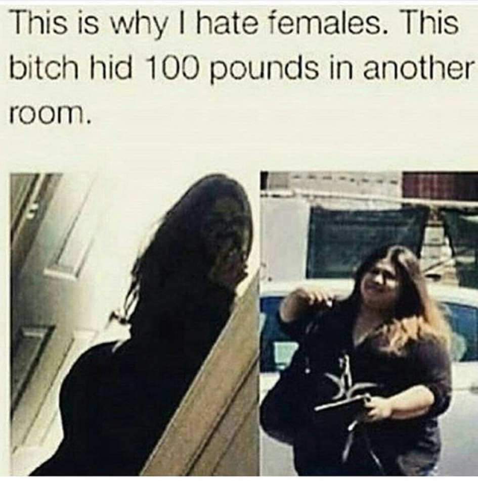 This is why I hate females - meme