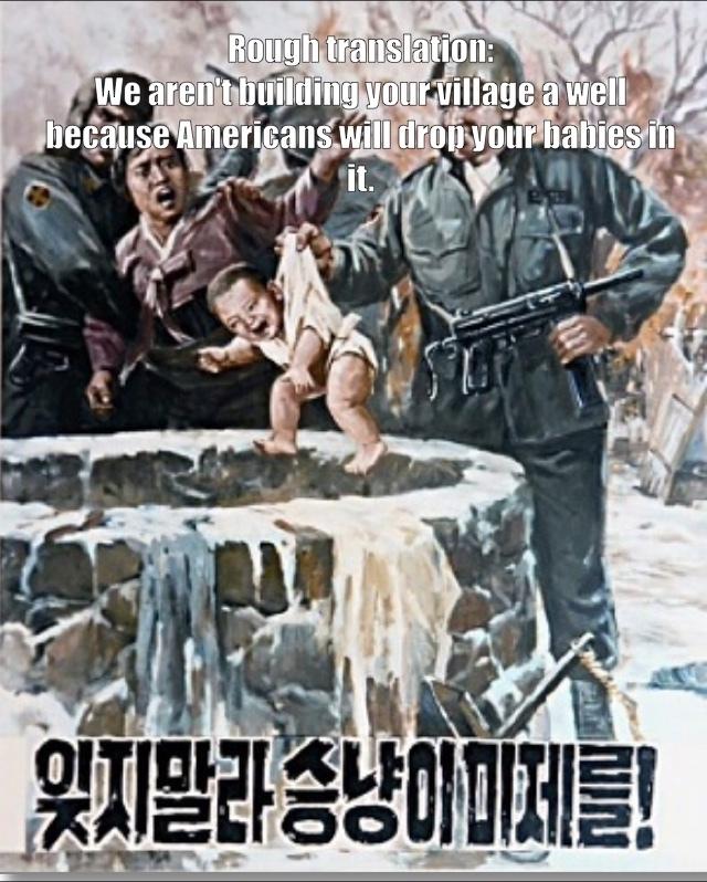 North Korean Propaganda. - meme