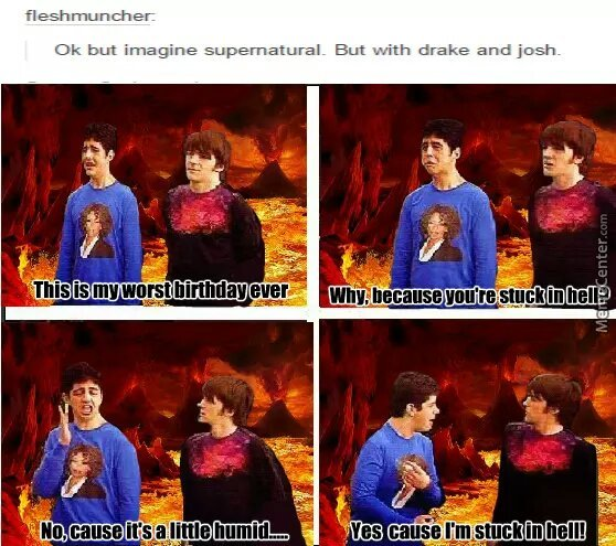 Drake and Josh - meme