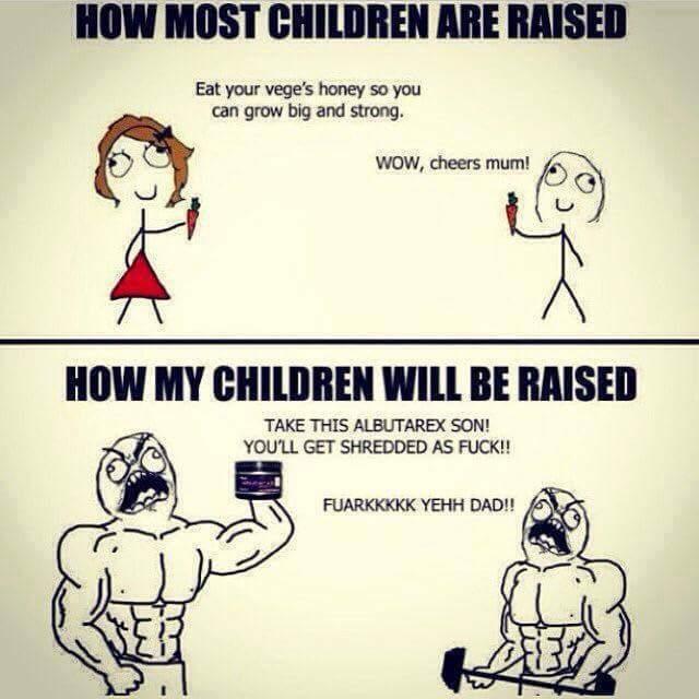 Gym Rat Parents be like: - meme