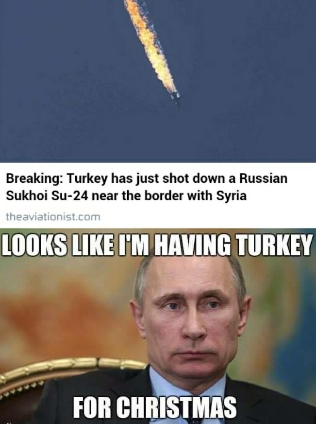 Turkey for Christmas - meme