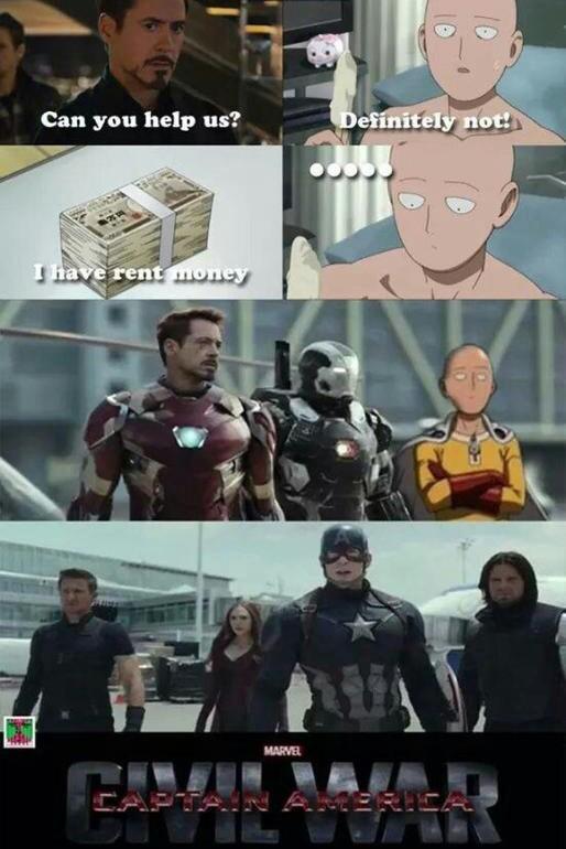 One punch - meme