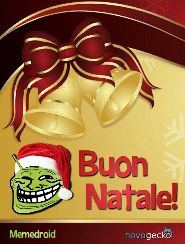 Buon Natale da Novagecko! - meme