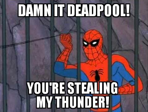 Deadpool for president - meme