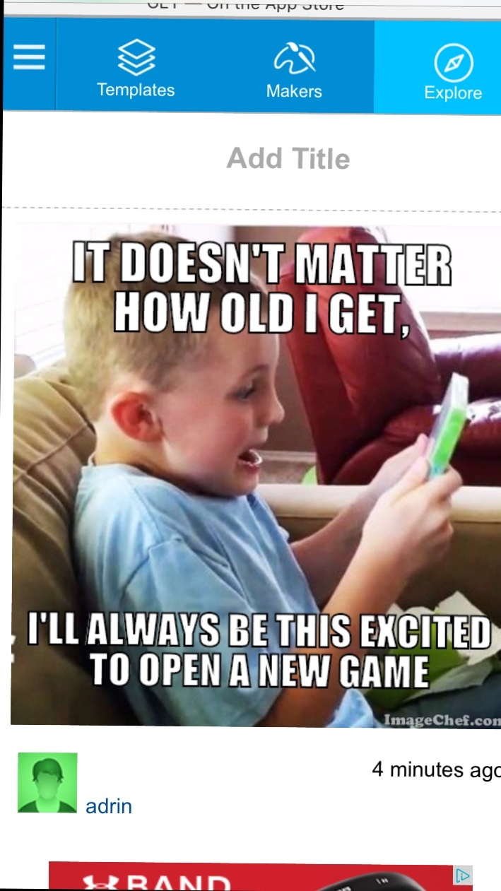 Once a gamer, Always a gamer - meme