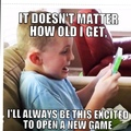 Once a gamer, Always a gamer
