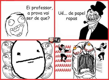 professor modo troll ativado - meme