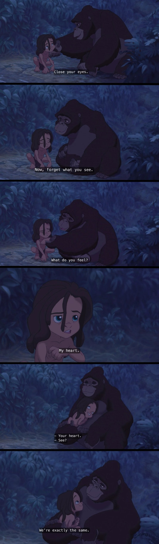 Tarzan is real. - meme