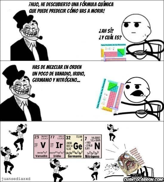 TrollingCience Everywere - meme