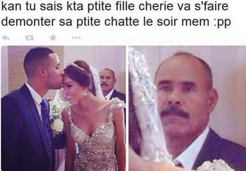 After the mariage - meme