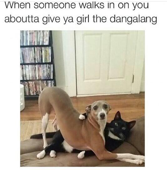 Nigga leave - meme