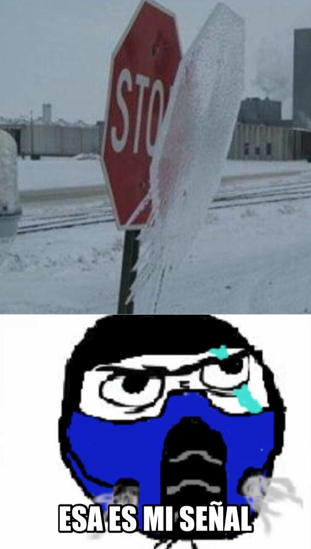 No lo toquen, si lo hacen se congelaran - meme