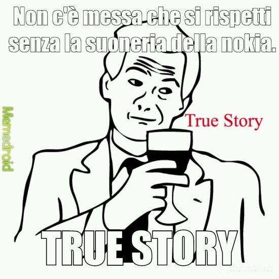 È proprio vero. - meme