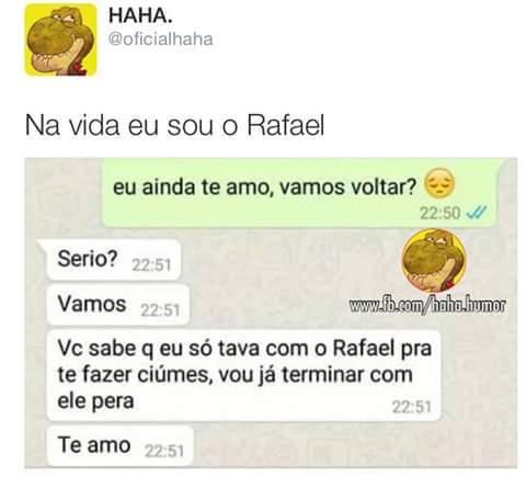 Prazer, Rafael... - meme
