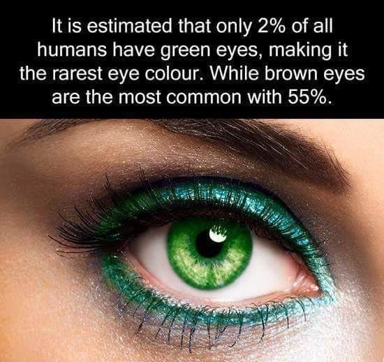 I have green eyes - meme