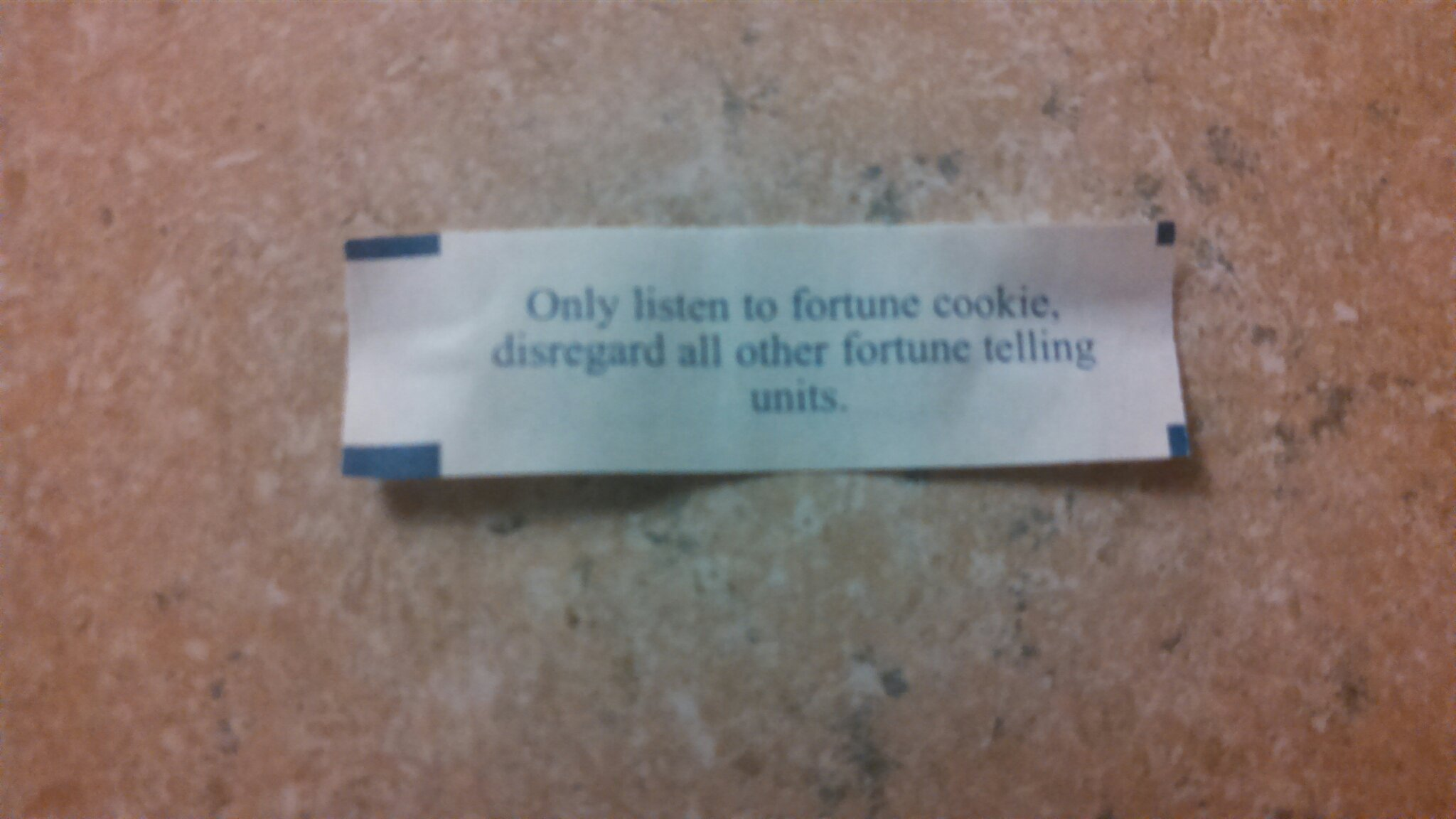In my fortune cookie - meme