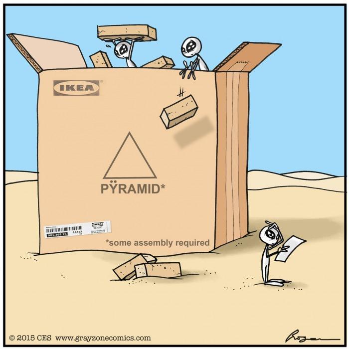 Pyramide acheté chez ikea - meme