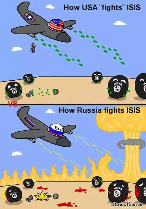 Russie et USA - meme