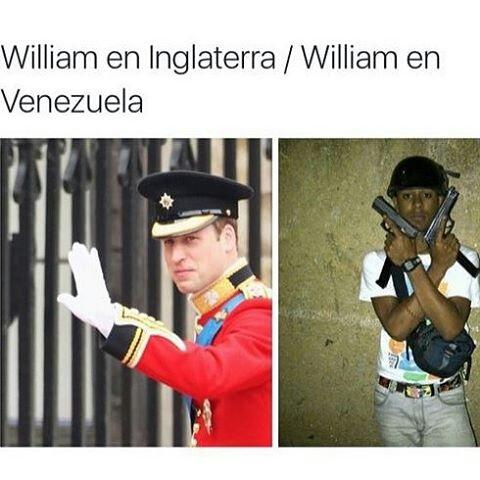 pobre William - meme