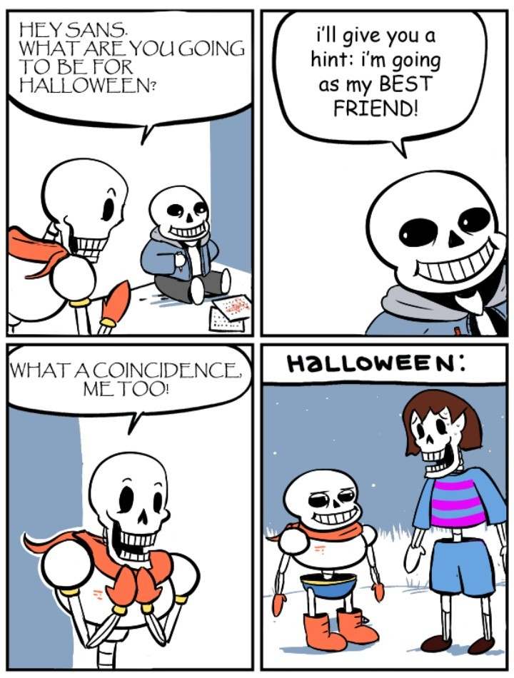 !!! Happy Halloween !!!          UNDERT♡LE - meme