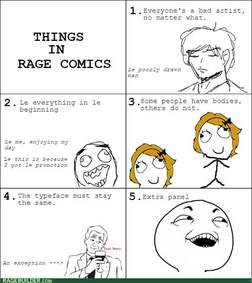 How to make rage comics - meme