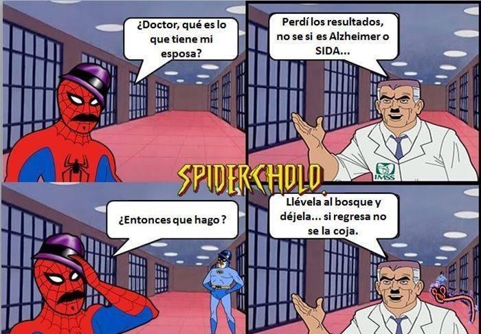 Spidercholo loquillo - meme