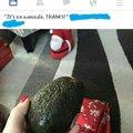 It's an avocado