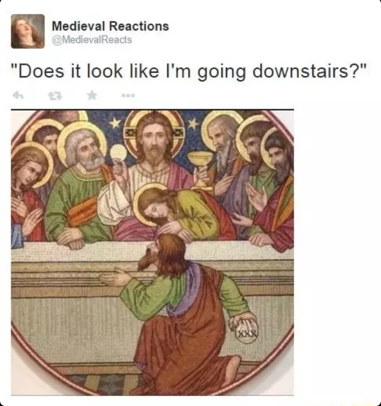 Medieval react - meme