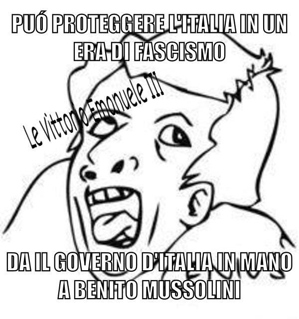 Le Vittorio Emanuele III - meme