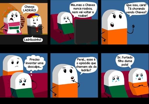 Pq Chaves ;-; - meme