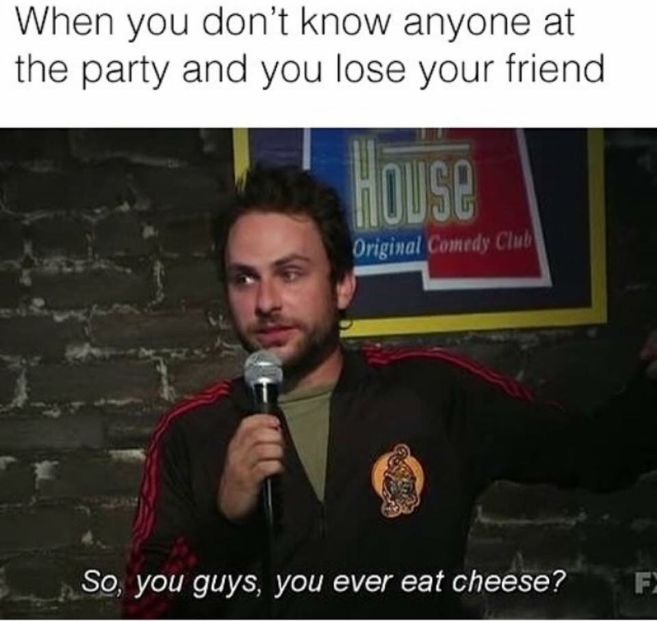 cheese is great - meme