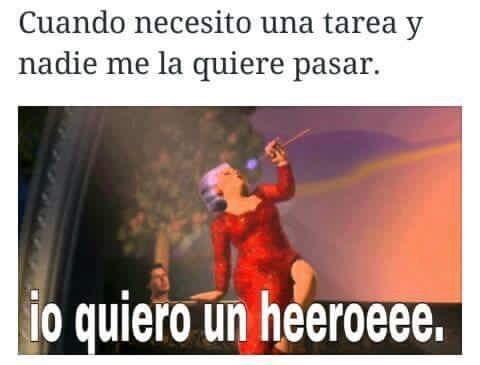 Héroe - meme