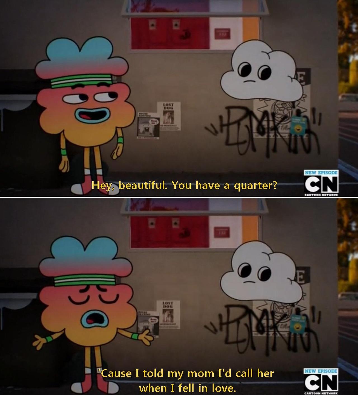 The amazing world of gumball - meme