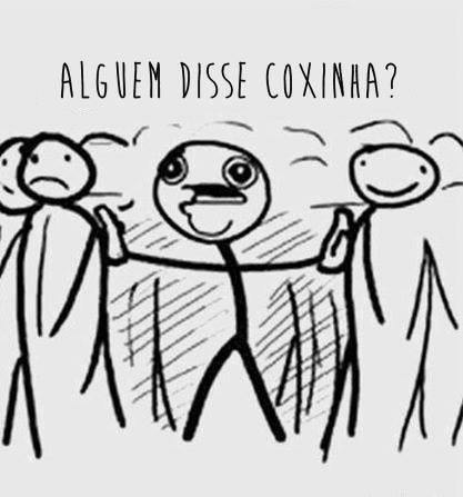 Coxinha <3 - meme