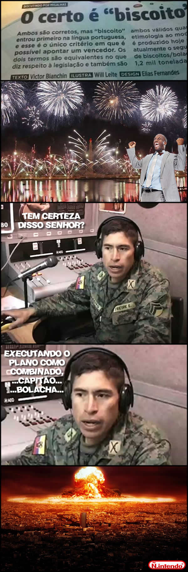 BISCOITO PORRA - meme