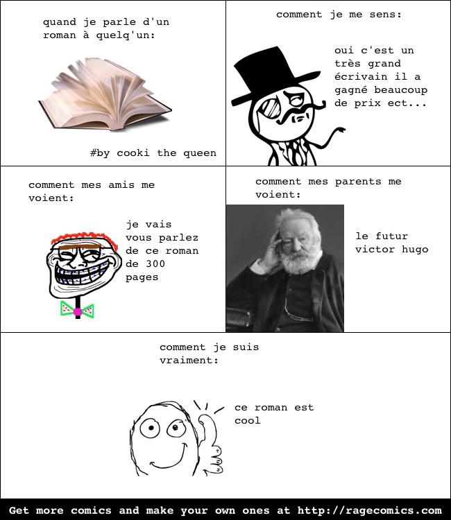 Quelle style de livre lisez-vous? - meme