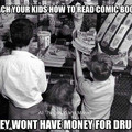 I will do that to my kids.. They will buy until they broke