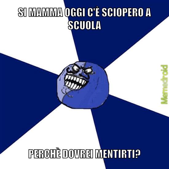 I love scioperi - meme