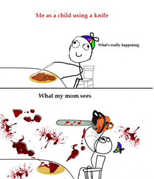 Me as a child... haow about you? - meme