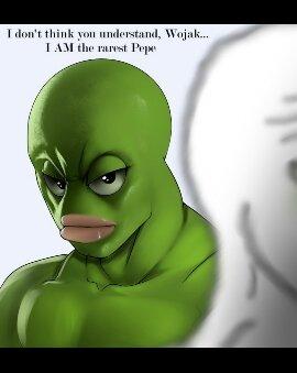 Rarest pepe - meme