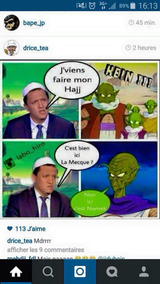 Dragon ball Z + religion = ceci - meme